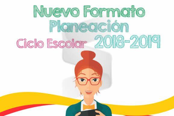 Planeación Primaria Ciclo Escolar 2018-2019 (Descargable)