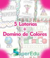 6facf88f191b2 Descarga Paquete de 5 Loterias Didácticas + Domino de Colores