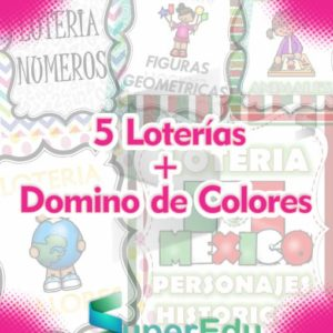 5 Loterias para Preescolar
