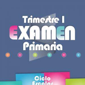Examen de Primaria Primer Trimestre 2018-2019