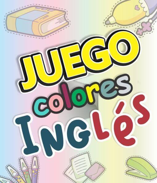 Juego de Colores en Ingles didactico