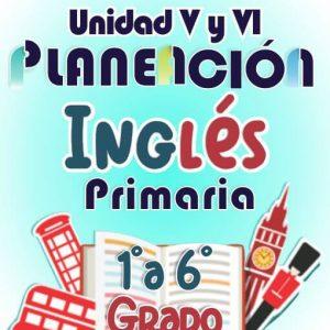 Planeacion de Primaria Ingles V y VI