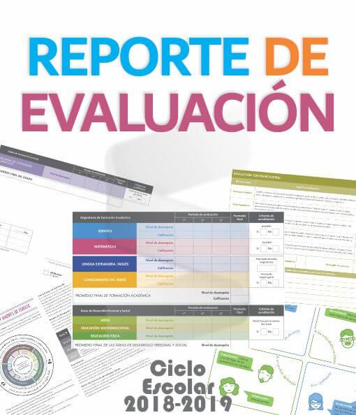 Reporte De Evaluación Excel Nuevo Modelo Educativo Ciclo