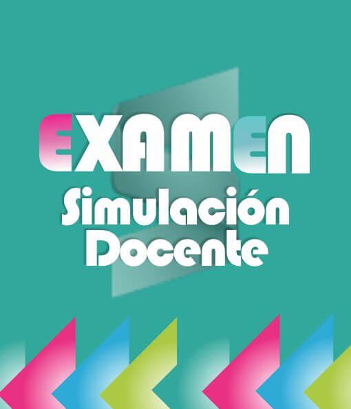 Examen Simulación Docente