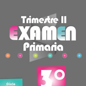 Examen de Primaria 3° Grado - Segundo Trimestre 2018-2019