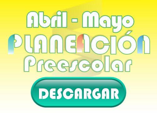 Abril - Preescolar 2