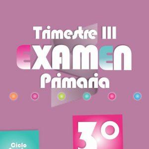 Examen de Primaria 3° Grado Tercer Trimestre 2018-2019