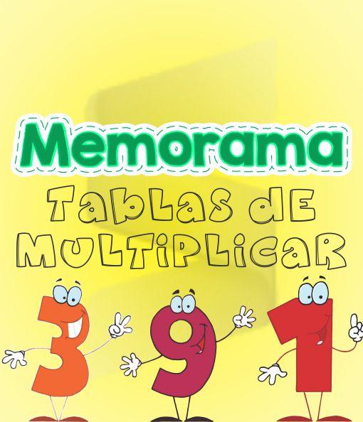 Memorama - Tablas de Multiplicar