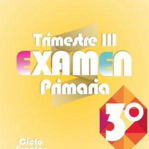 Examen de Primaria 3° Grado Tercer Trimestre + Evaluación Final 2019-2020