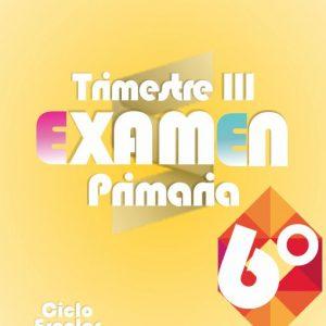 Examen de Primaria 6° Grado Tercer Trimestre + Evaluación Final 2019-2020