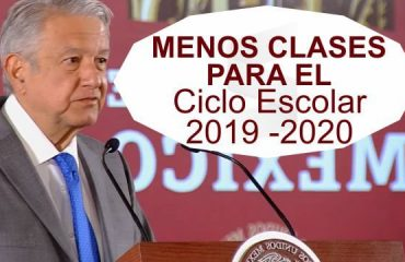 SEP Propone Menos Clases para Próximo CICLO ESCOLAR 2019-2020