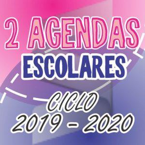 2 Agendas Escolares 2019-2020+ Materiales de Inicio de Ciclo