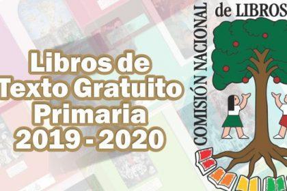 Libros de Texto Gratuitos Primaria Ciclo Escolar 2019-2020