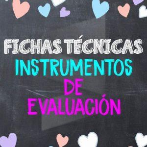 Fichas Técnicas de Instrumentos de Evaluación - Nuevo Modelo Educativo