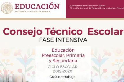 Consejo Tecnico Escolar - Fase Intensiva
