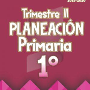 Planeación Argumentada 1° Grado de Primaria – Ciclo Escolar 19-20 (Trimestre II)