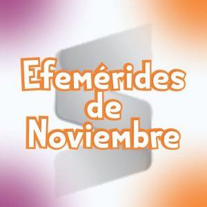 Efemerides del mes de Noviembre Gratis