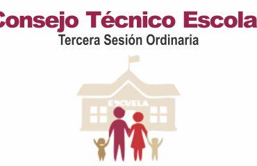 Consejo tecnico escolar - tercera sesión