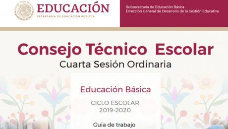 Consejo tecnico escolar - Cuarta sesión