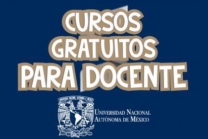 Cursos Gratuitos para Docente - UNAM