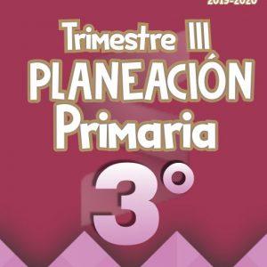 Planeación Argumentada 3° Grado de Primaria – Ciclo Escolar 19-20 (Trimestre III)
