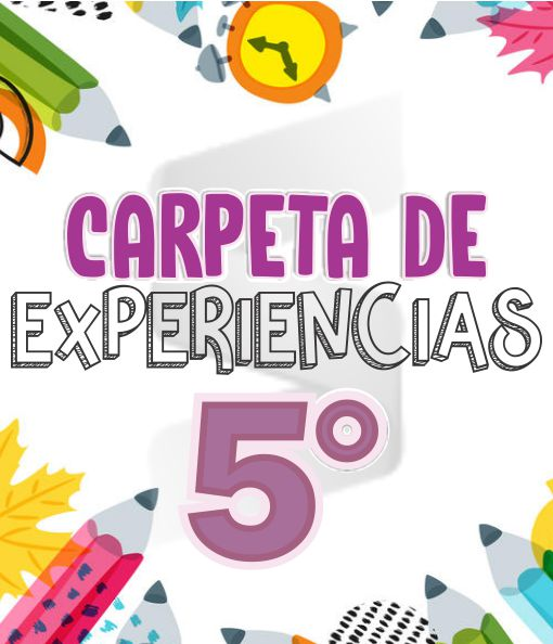 CARPETA DE EXPERIENCIAS Aprende en Casa - Primaria Quinto Grado 2019 - 2020